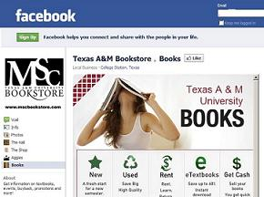 Texas A&M Facebook Bookstore