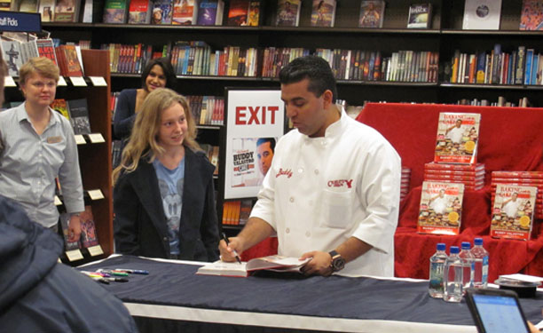 Cake Boss Book Signing at Tidewater