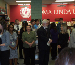 The Loma Linda University community turned out for the grand opening celebration of The Campus Store at Loma Linda University.