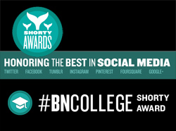 Shorty Awards #BNCollege