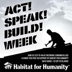 Act! Speak! Build!