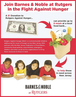Rutgers Against Hunger Poster