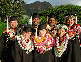Hawaii Pacific Universit y graduates