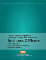 2013 Survey of College and University Business Officers