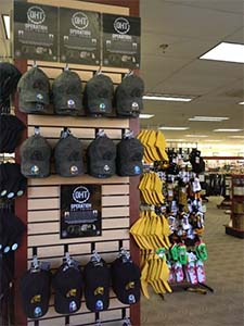 Operation Hat Trick display at the Barnes & Noble at VCU Bookstore in Richmond, Virginia.