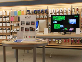 The Spartan Bookstore, formerly operated by the San Jose State University, now has a tech store within the bookstore.