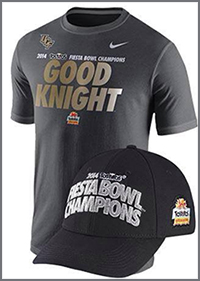 UCF Fiesta Bowl Good Knight t-shirts