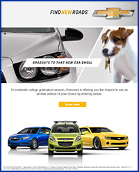 Chevy email