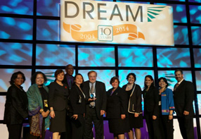 Achieving the Dream Awards 2014