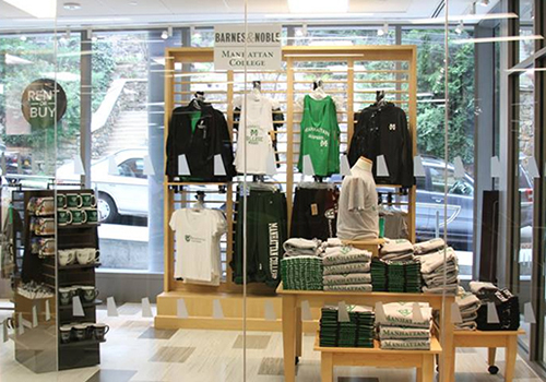The new Manhattan College Bookstore opened in the newly built Raymond W. Kelly '63 Student Commons in July.