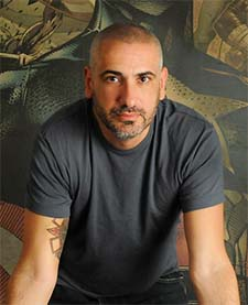 Marvel Comics Editor-in-Chief Axel Alonso.