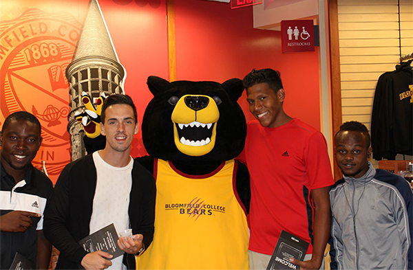 Students attend the recent Barnes & Noble at Bloomfield College bookstore VIP Shopping Night.