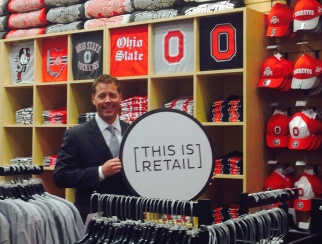As NRF's partner for Retail Across America/Ohio, Ohio Council of Retail Merchants President Gordon Gough joined the crew on our road trip, including a trip to his alma mater, The Ohio State University.