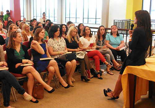 Bethenny Frankel at Rowan_speaking
