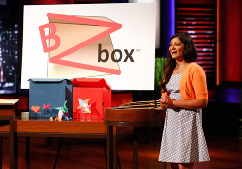Emory student Kaeya Majmundar appeared on 'Shark Tank' May 16 to seek funding for BZbox, her collapsible, easy-to-use storage box.