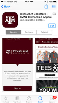 Mobile app_TexasA&M