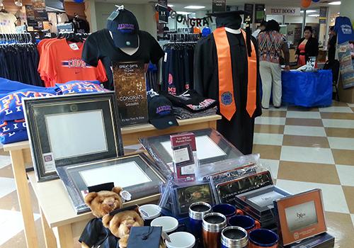 The Grad Fair at the Florida Memorial University Bookstore.