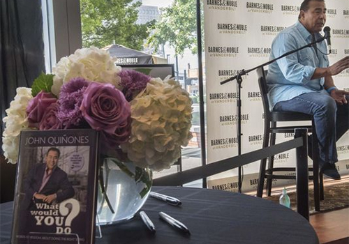 "ABC News journalist and host of ""What Would You Do?"" made an appearance at the Barnes & Noble at Vanderbilt University bookstore. Photo: John Partipilo / The Tennessean"