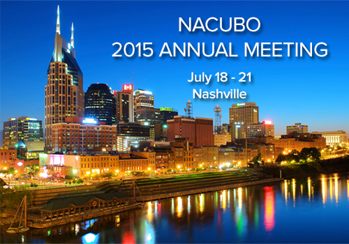 NACUBO 2015 Annual Meeting
