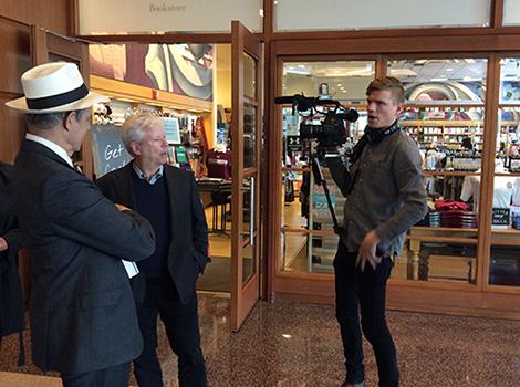 U of Chicago_PBS Newshour_filming