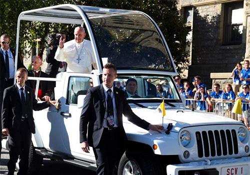 Pope Visits CUA