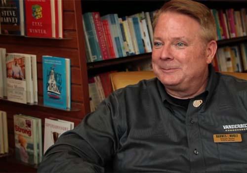 William Taylor, Trade Manager for Barnew & Noble at Vanderbilt University.