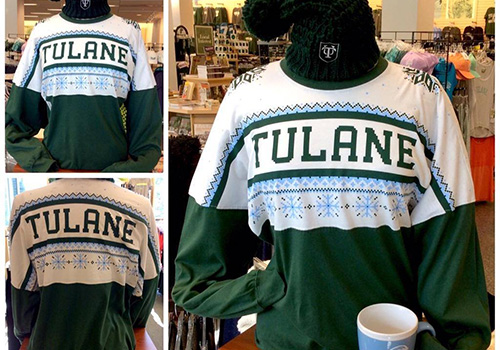 Tulane_ugly sweater 2015