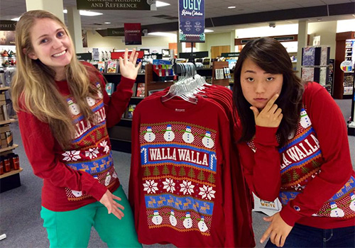 WallaWalla Ugly Holiday Sweater