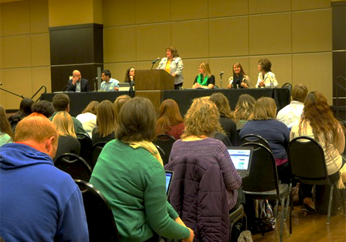 The Kansas Higher Education E-Textbook Summit, held at Emporia State University, explored
