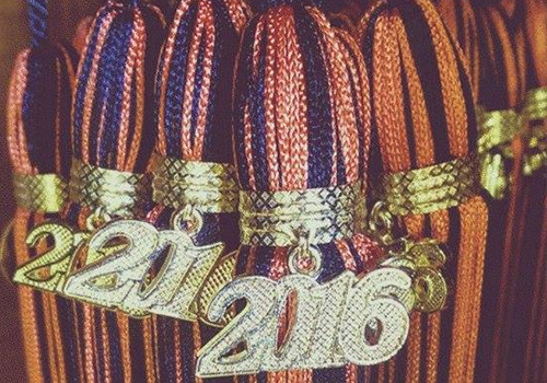 The class of 2016 picked up their caps, gowns, and tassles at the Campbell University Bookstore located in Buies Creek, North Carolina.