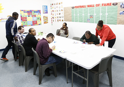 A new classroom at the Michael P. Huseby Autism Center provides essential services to the adult autism community.