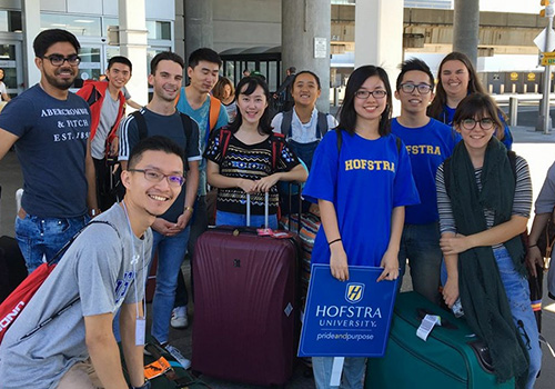 international students Hofstra University