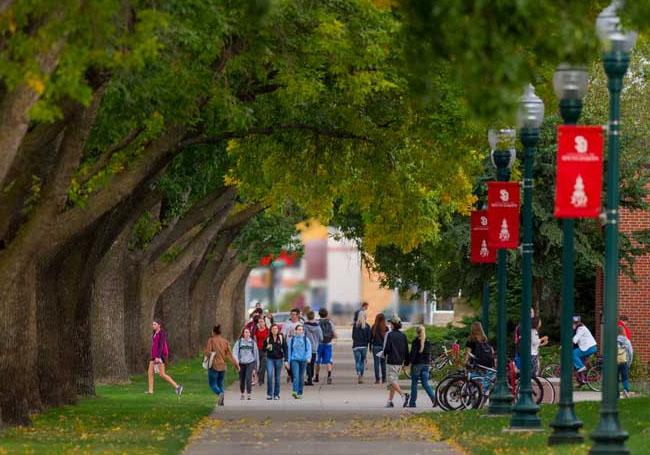 college in the heartland