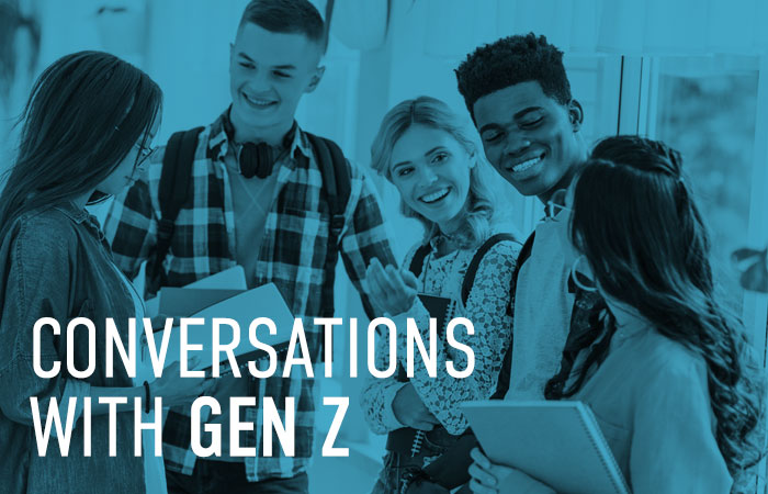 Conversations With Gen Z Infographic