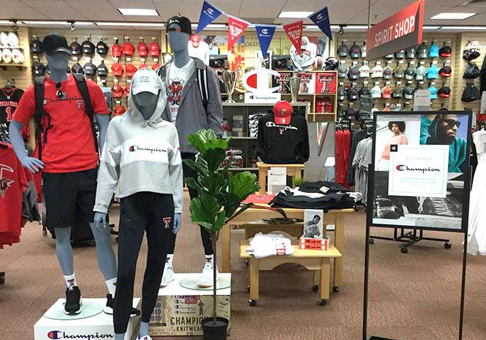 Texas Tech college retail